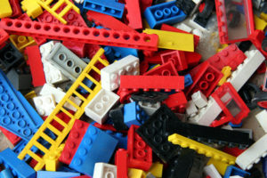 Legohaufen